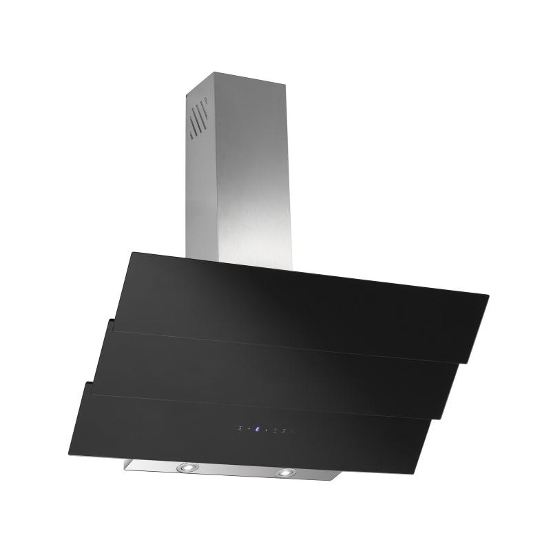 kopffreihaube thuja schwarz glas 90 cm umluft inkl 1 p kohlefilter ihmsen k chenger te. Black Bedroom Furniture Sets. Home Design Ideas