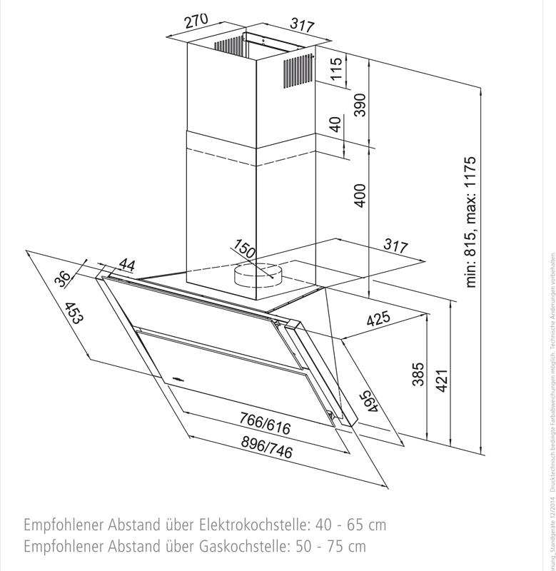 dunstabzugshaube oranier kopffreihaube lina w wei glas 90 cm ihmsen k chenger te. Black Bedroom Furniture Sets. Home Design Ideas