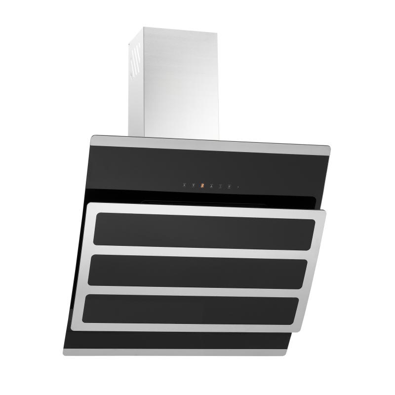 kopffreihaube kosmea schwarz glas 60 cm umluft inkl 5 p kohlefilter ihmsen k chenger te. Black Bedroom Furniture Sets. Home Design Ideas